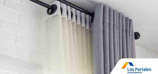 elegir cortinas departamento
