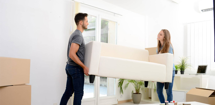 personas mueble alquiler departamento