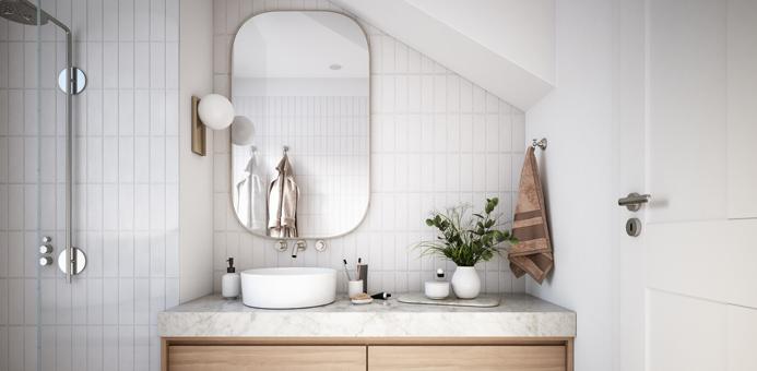 baño espejo feng shui